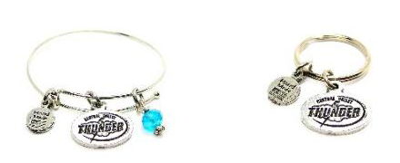 Central Valley Thunder Bracelets and Keychains